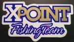 XFT   XPOINT FISHING TEAM DECAL