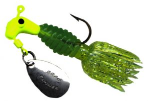 B2-1803-082   Crappie Thunder, Chart./Green-Chart. 1/8th