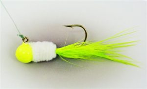 SSG-733 SLAB STACKER WHITE PERCH(Cht/Wht/Cht) 1/8oz #2 SO Hook