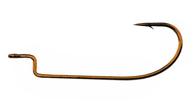 4350 5/0 Daiichi Bronze Offset Worm Hook