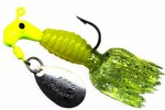 B2-1802-022   Crappie Thunder, Chart./Yellow-Chart. 1/16th
