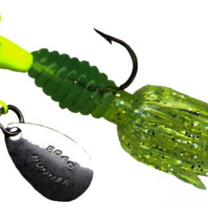 B2-1802-082   Crappie Thunder, Chart./Green-Chart. 1/16th