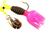B2-1802-090    Crappie Thunder Char/Blk/Hot Pnk(BLINK) 1/16th