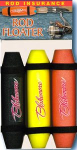 "436-000 6"" ASSORTED COLORS ROD FLOATERS 3PK, ROD/ REEL INSURANCE"