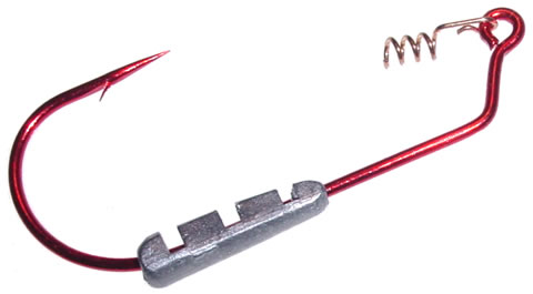D67Z BUTT DRAGGER, BLEEDING BAIT RED