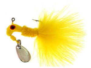 B2-1002-002  MARABOU, Yellow 1/16th
