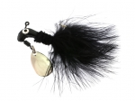 B2-1002-004  MARABOU, Black 1/16th