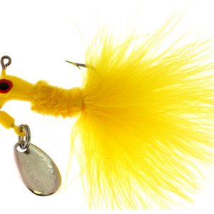 B2-1003-002  MARABOU, Yellow 1/8th