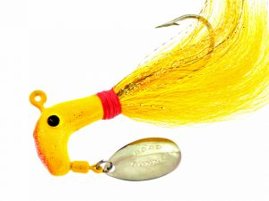 B1009-002    BUCK TAIL, Yellow 1oz.