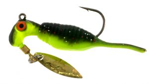 B2-1952-030 Reality Shad  Wasabi 1/16th OZ. #2 Hook Twin Pack