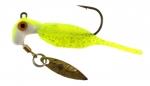 B2-1952-062 Reality Shad Pickle Seeds 1/16th OZ. #2 Hook Twin Pa