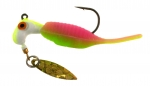 B2-1953-038 Reality Shad  Rainbow Sherbert 1/8th OZ. #1 Hook Twi