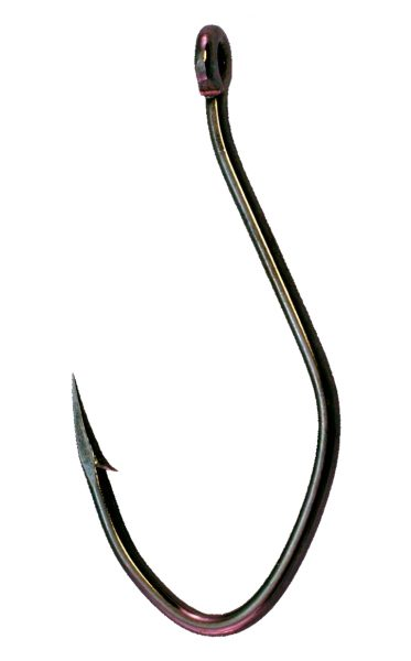 "TC91Z Super ""J"" Catfish Hook Black Nickel"