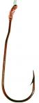 863G Aberdeen Fine Wire Snelled Hook Blood Red 5 Pack