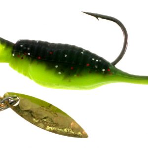 B2-1953-030 Reality Shad  Wasabi 1/8th OZ. #1 Hook Twin Pack