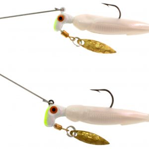 RBS02-001 Bang Shad Buffet Rig / 1/4oz. total weight  / Alewife