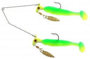 RBS02-082 Bang Shad Buffet Rig / 1/4oz. total weight  / Lime/Cha