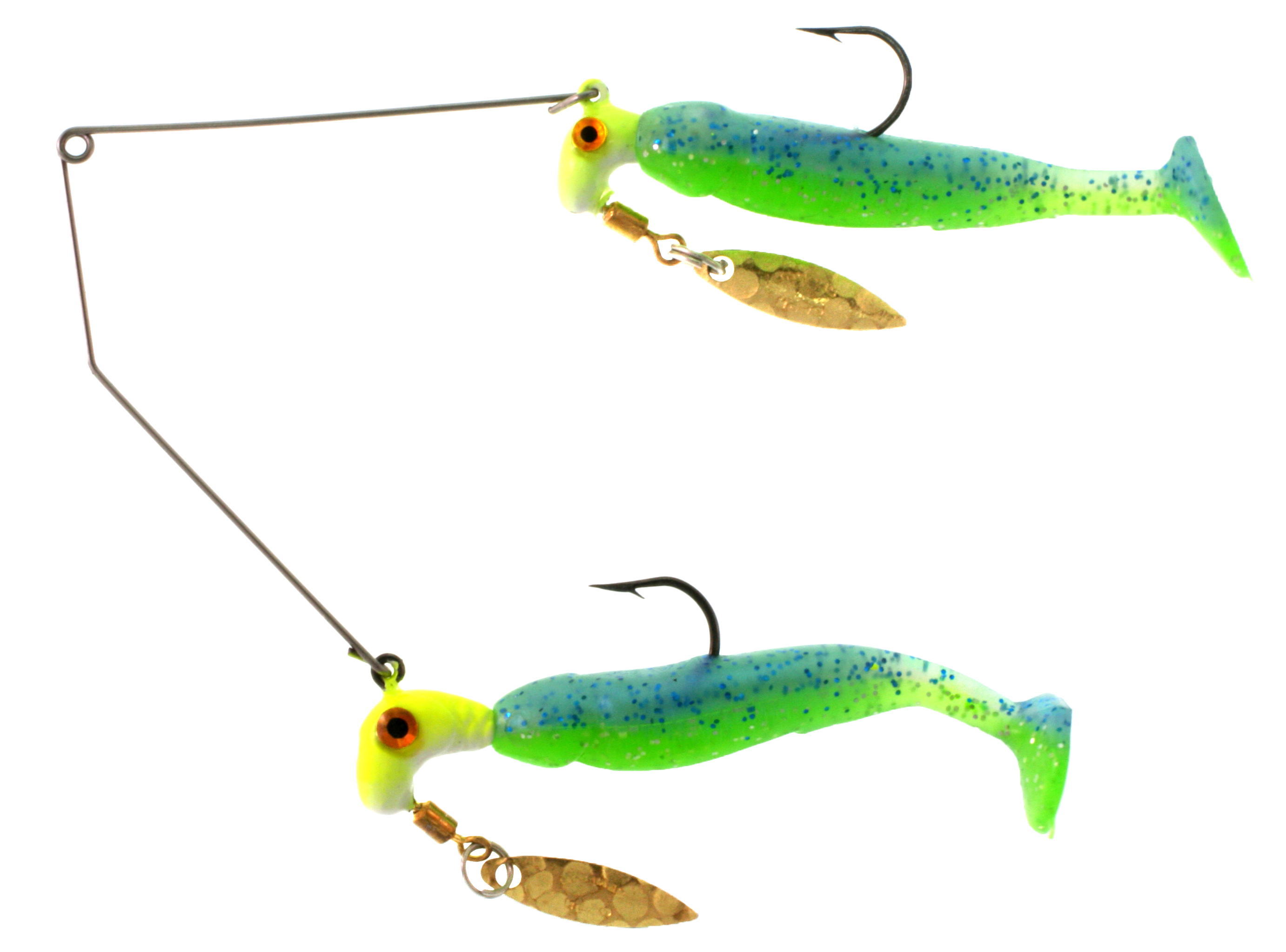 RBS02-093 Bang Shad Buffet Rig / 1/4oz. total weight  / Blue Che
