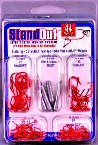 ST-W-52  44 Piece Standout Walleye Kit