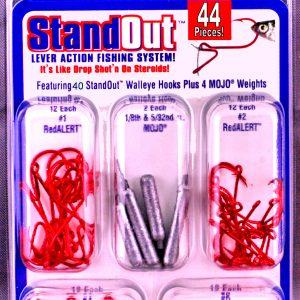 ST-W-52  44 Piece Standout Walleye Kit