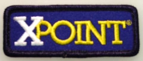 XPATCH   XPOINT IRON ON PATCH