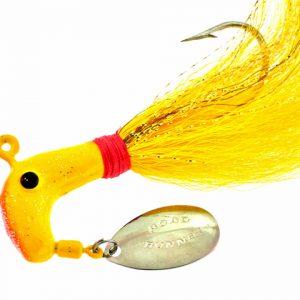 B1009-002    BUCK TAIL, Yellow 1oz.