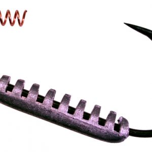 D61Z 6/0 Butt Dragger Swim Bait Hook Black Nickel 2pk