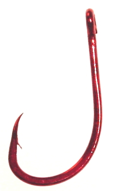 D71Z BIG MOE BAIT HOOK, Bleeding Bait
